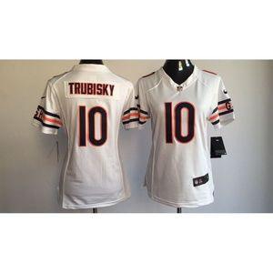promo code 98196 fa197 Tops   Women Chicago Bears Mitchell Trubisky Jersey 3   Poshmark